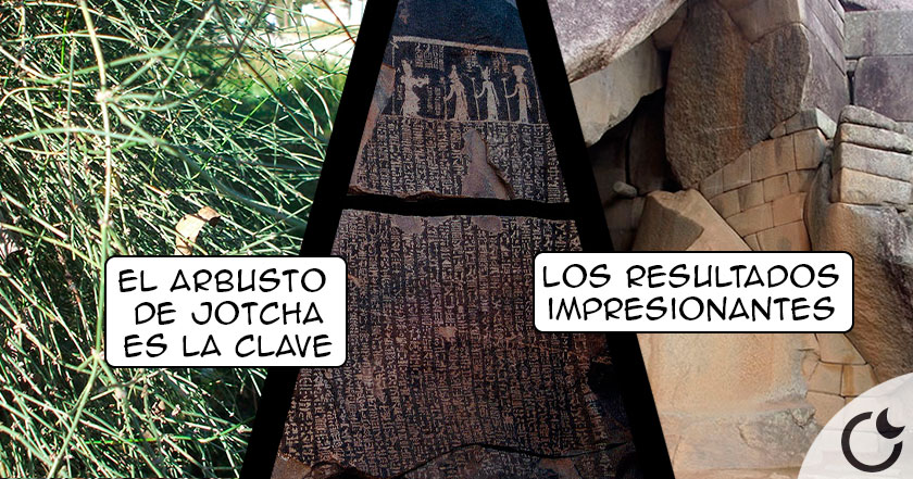 ¿Es el LICUADO de PIEDRAS el SECRETO de las Pirámides? Si, según estela alquímica egipcia