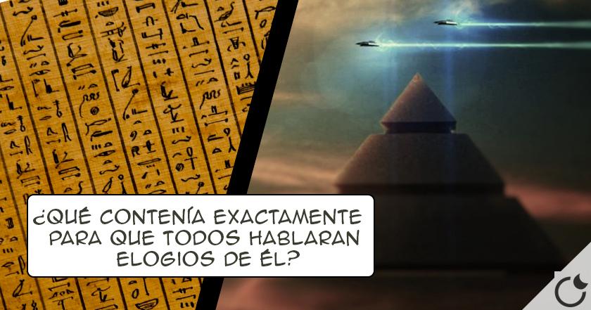 La EVIDENCIA EXTRATERRESTRE escrita MAS ANTIGUA DE LA HISTORIA: El Papiro Tulli ¿Quieres conocerlo?