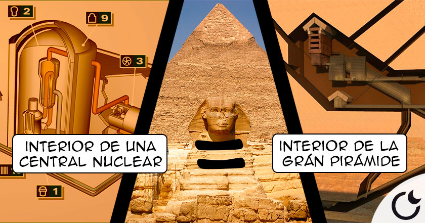 ¿Era la Grán Pirámide de Keops un REACTOR NUCLEAR? Estudios apuntan a que SI