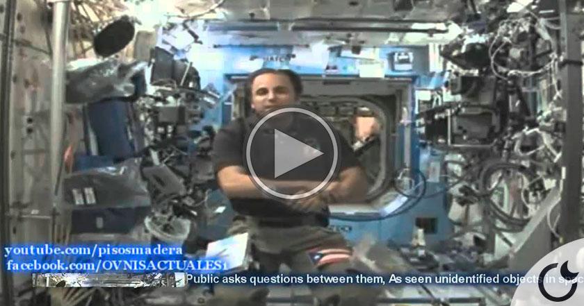Astronauta de la NASA disimula y no SABE como MENTIR sobre EVIDENCIA OVNI