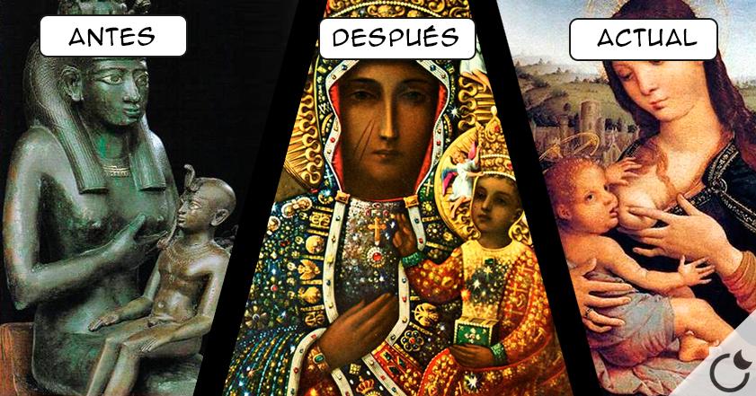 «ISIS» DIOSA PAGANA EGIPCIA  = VIRGEN MARIA en la  ACTUALIDAD
