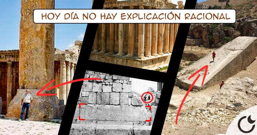 La CONSTRUCCIÓN IMPOSIBLE de la terraza de baalbek, ¡COMO EXPLICA ESTO la ciencia!