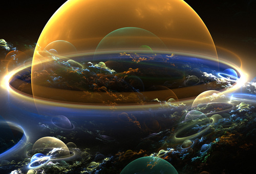 ASTRONOMIA: Diferentes teorías sobre la creación del universo