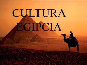 HISTORIA: Resumen de la Historia de la cultura Egípcia