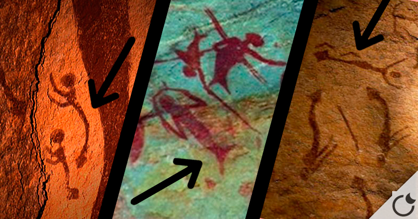 Pinturas rupestres DE SIRENAS ¿Mito o realidad?