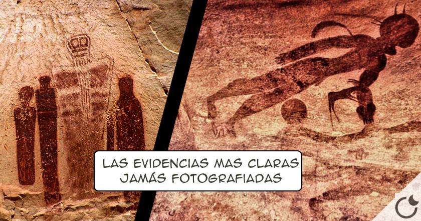 La EVIDENCIA DEFINITIVA de contacto EXTRATERRESTRE en el pasado: Los «Cabezas Redondas» del Tassili