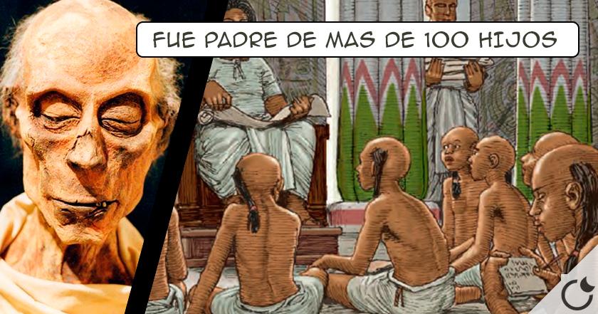 Ramsés II, el mayor PROCREADOR de la historia: Más de 30 reinas en 91 años