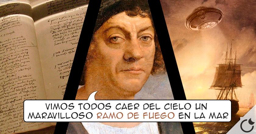 COLÓN y el OVNI descrito EN SU DIARIO PERSONAL. ¿Quieres conocer la historia?