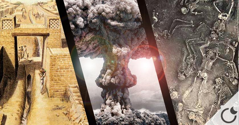 ¿ Harappa y Mohenjo Daro destruida por ARMAS NUCLEARES hace 12.000 años ?
