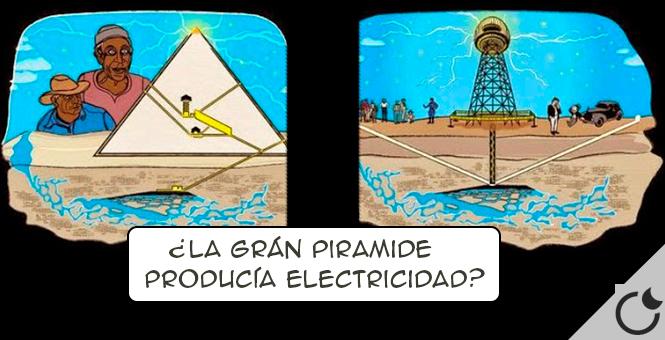 ¿Podría haber sido la grán Pirámide una Grán maquina de Tesla?