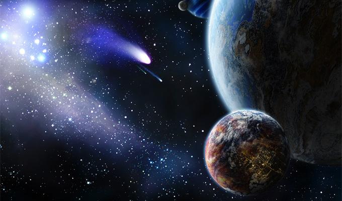 Posibilidad de vida antigua en planetas de la Vía Lactea