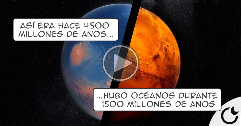 NASA afirma que MARTE tuvo MÁS AGUA que el Océano Pacífico según estudios
