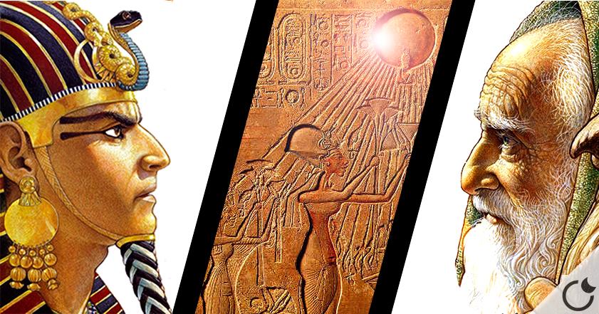 El verdadero MOISÉS era Egipcio y seguidor de UN DIOS ALIENIGENA: ATON