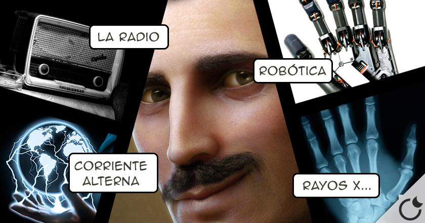 Los 10 INVENTOS de Nikola Tesla que CAMBIARON EL MUNDO
