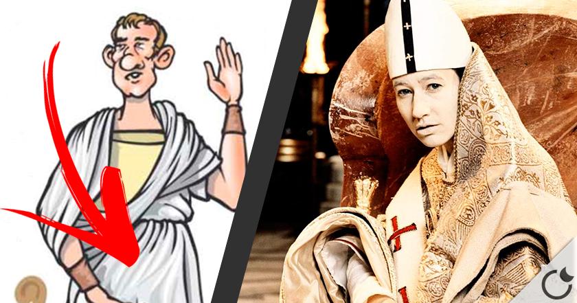 """El curioso origen del verbo """" Testificar """" y la historia de la papisa Juana"""