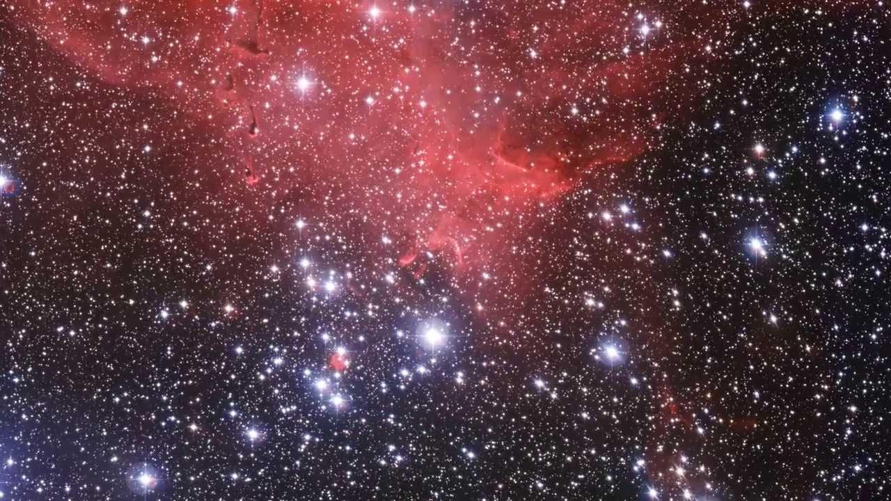 Haciendo zoom en el cúmulo estelar NGC 3572