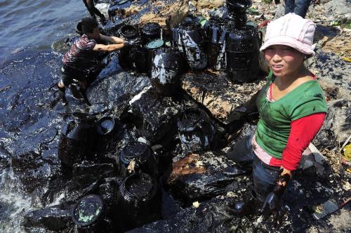 27 increíbles fotografías sobre la extrema contaminación China