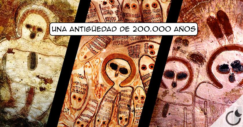 LOS WANDJINA, Los dioses extraterrestres de los aborígenes australianos ¿200.000 años?