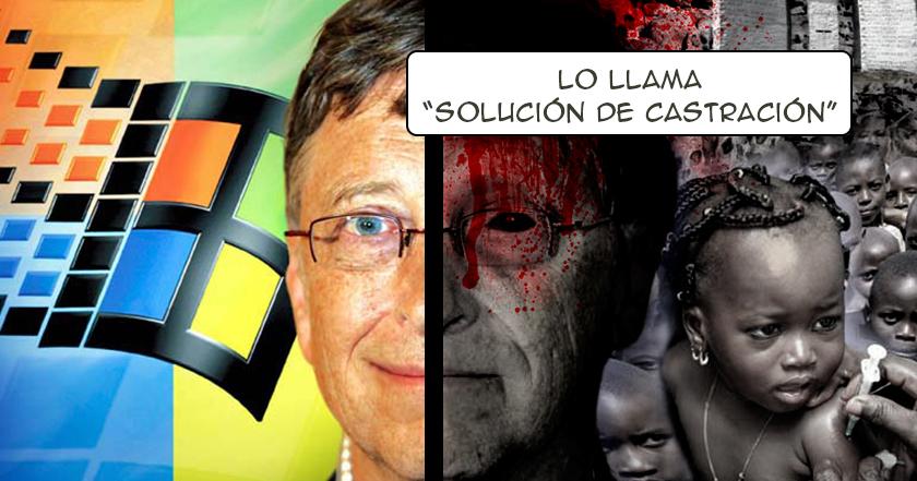 Bill Gates quiere REDUCIR LA POBLACIÓN mundial con VACUNAS.¿Estás de acuerdo?