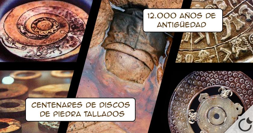 El enigma de los DISCOS DROPA. Alta tecnología hace 12.000 años ENCUBIERTA