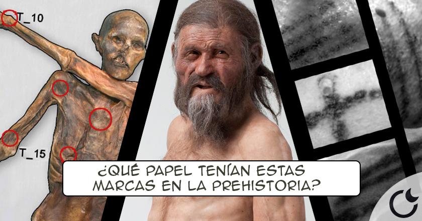 El ENIGMA de los TATUAJES de Ötzi, el hombre de hielo (5300 años)