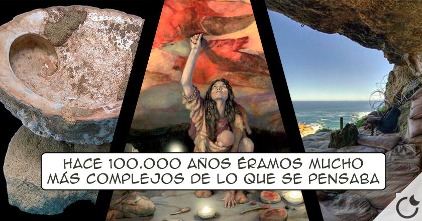 TALLER DE PINTURA de hace 100.000 años hace que tengamos que REESCRIBIR LA HISTORIA de nuevo