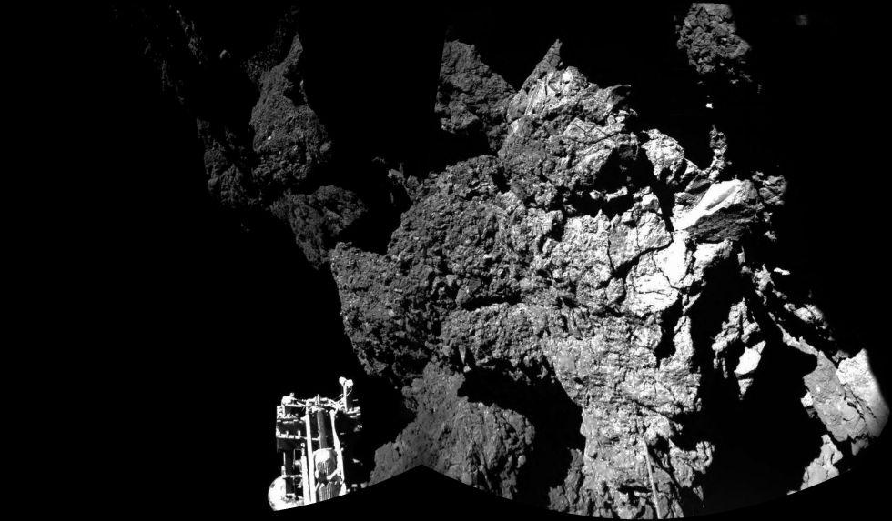 La sonda 'Philae' despierta tras siete meses inactiva sobre el cometa 67P