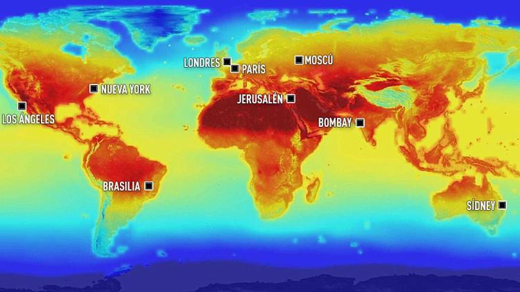 Terroríficо mapa de la NASA: la Tierra se está quedando sin agua