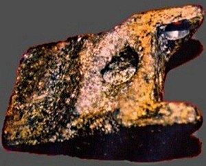La cuña de aluminio de Auid. 20.000 años
