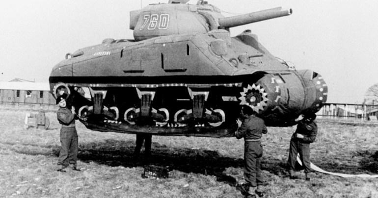 Los tanques hinchables que engañaron a Hitler. El ejercito fantasma