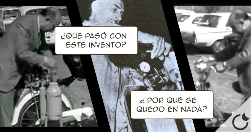 La conspiración del motor de agua. Un invento español silenciado