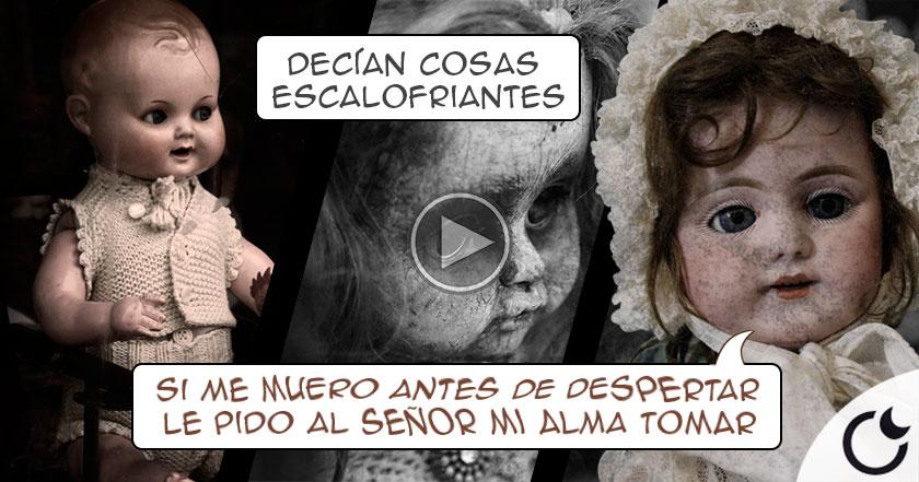 Las voces FANTASMAGÓRICAS de las MUÑECAS de Edison que TRAUMATIZÓ a niños de la época