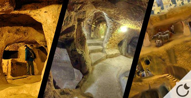 Ciudad subterranea encontrada en Turquía. La realidad supera la ficción