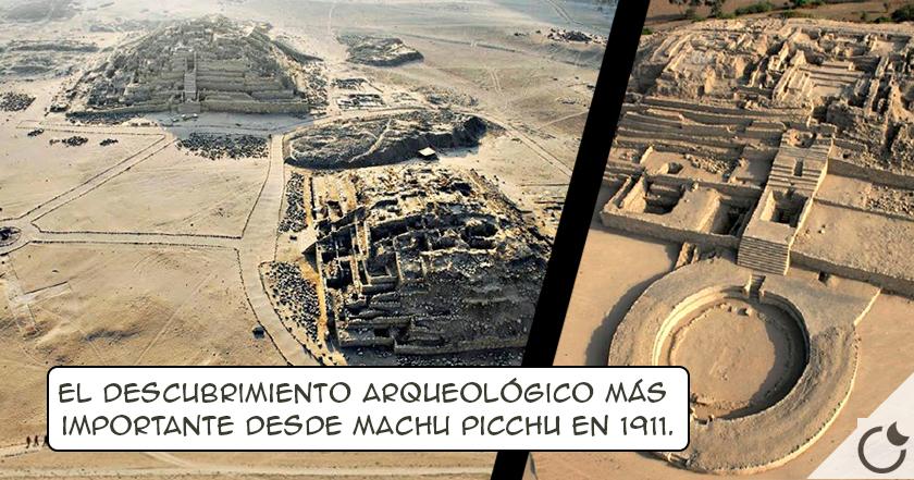 Las PIRÁMIDES PERDIDAS DE CARAL. Las MÁS ANTIGUAS DEL MUNDO, en Lima