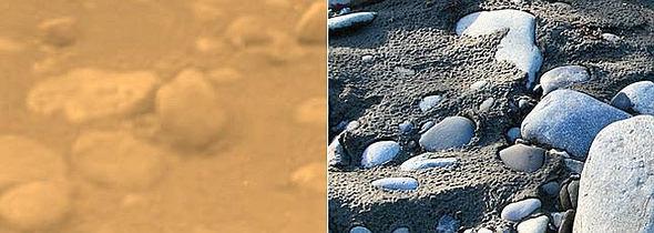 ASTRONOMIA:Descubren miles de bolas de hielo luminosas sobre la superficie de Titán