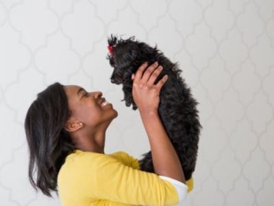 El vínculo entre un perro y su dueño es similar al de una madre con su hijo