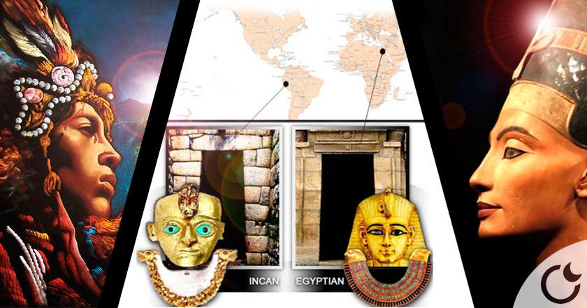 Las CONEXIONES entre AMÉRICA y EGIPTO que nunca te hubieras IMAGINADO