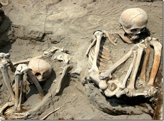 Hallan restos de niños sacrificados hace más de mil años