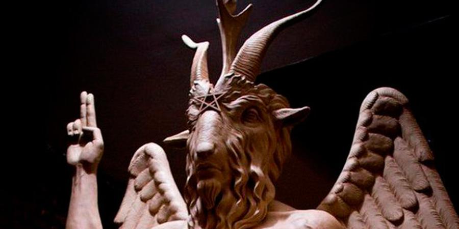 Inauguración de la estatua del Demonio en el Templo Satánico de Detroit