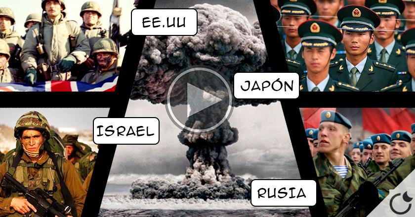 Más allá de Hiroshima y Nagasaki: ¿Cuántas BOMBAS nucleares ESTALLARON en el mundo?