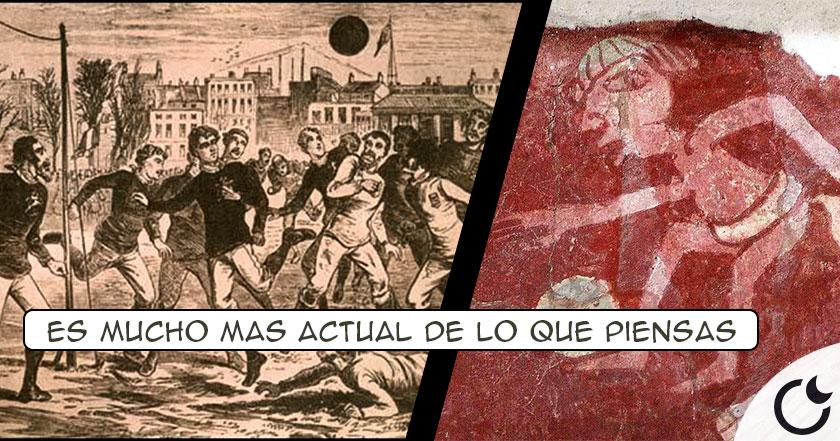 ¿La CURIOSA forma en la que nació NACIÓ el futbol MODERNO?