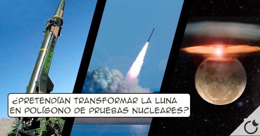 ¿Realizó EEUU ensayos NUCLEARES EN LA LUNA?