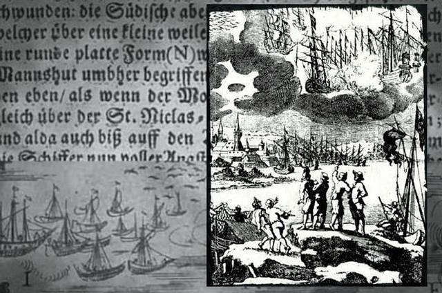 Pescadores presenciaron una «batalla OVNI» en 1665