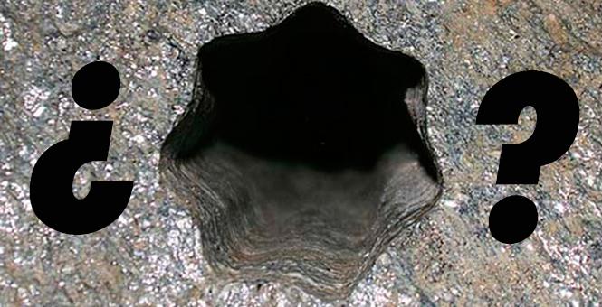 El agujero estrella de volda: Imposible para cualquier herramienta de la época prehistórica.
