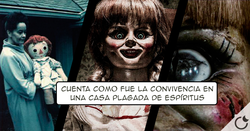 La TERRIBLE historia de Annabelle de Expediente Warren. Conocela aquí
