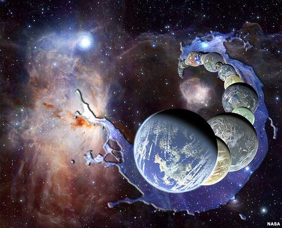Nueve mundos en el SISTEMA SOLAR tendrían océanos subterráneos