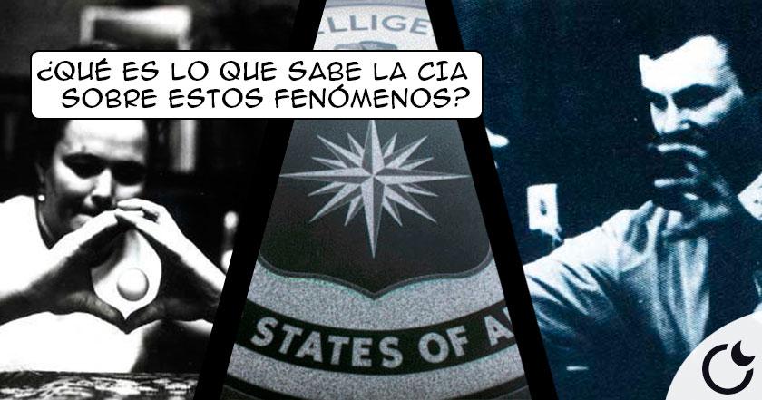 ¿Qué NOS OCULTA la CIA sobre la Percepción Extrasensorial? Más de lo que créeis