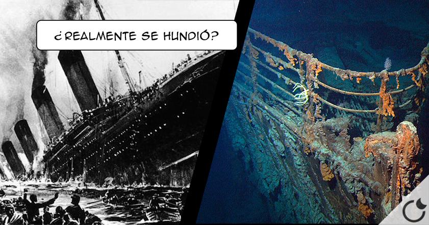 ¿El Titanic nunca se hundió?