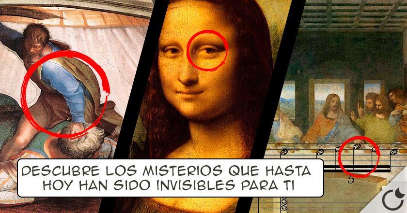 LOS MISTERIOS más SECRETOS escondidos en las MAYORES OBRAS DE ARTE del Mundo