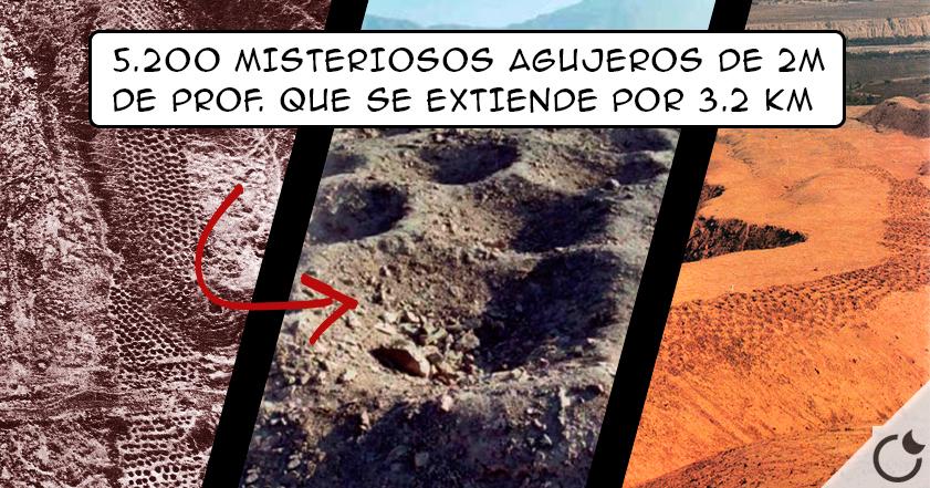 Encontrados miles de AGUJEROS en PERÚ + viejos que NAZCA ¿Para qué se HICIERON?